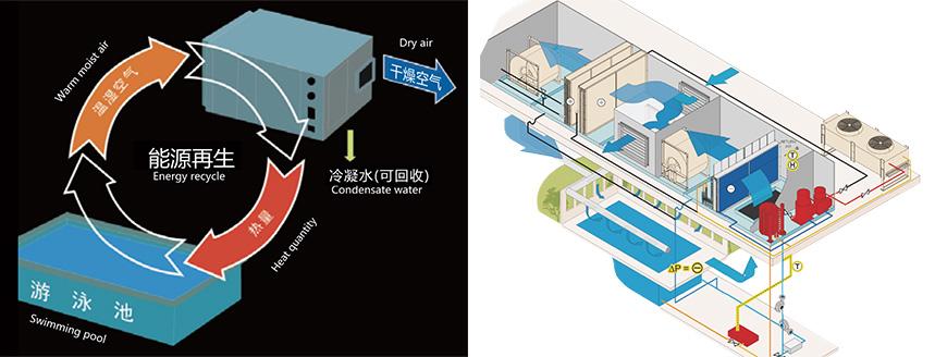 普派克泳池恒温恒湿系统