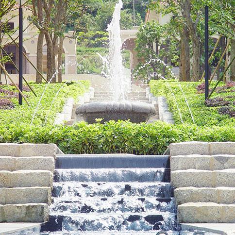 景观水处理,小型喷泉水质处理,水处理设备