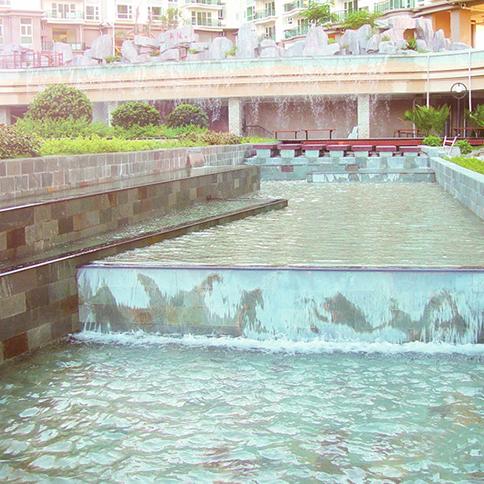 小区景观水质处理,小区喷泉水质处理,水质处理设备